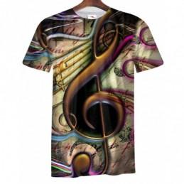 Remera Musical - Sublimada