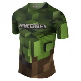 Remera Minecraft - Sublimada